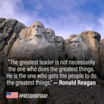 Happy President's Day! Do you have a favorite presidential quote? We'd love to hear it. Share your inspiration in the comments. 🗽 #PresidentsDay