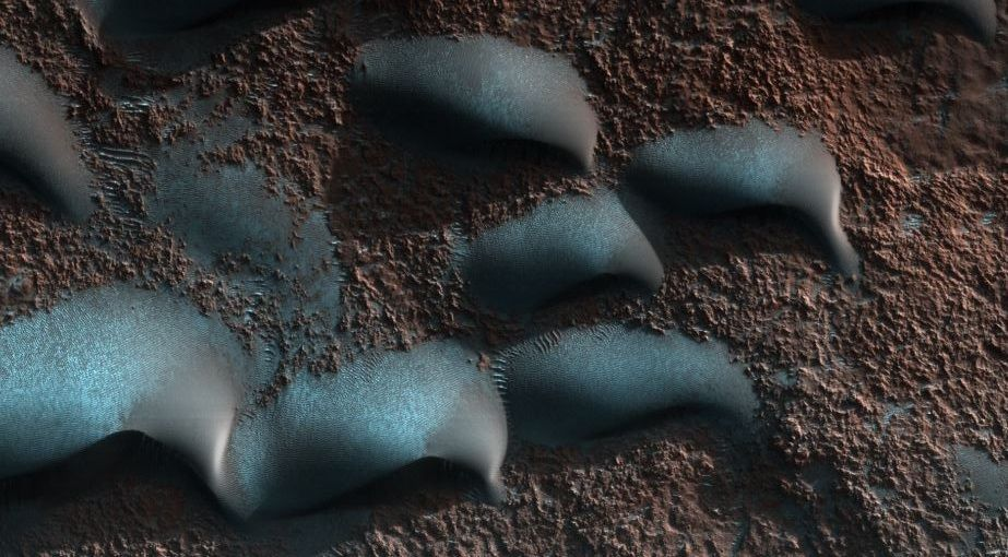 #Space: #aeolian processes at work in #dune Field in Wirtz Crater, #Marshttps://www.uahirise.org/ESP_053092_1315  via @HiRISE