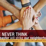 Image for the Tweet beginning: #LACountyDisasterFact: Neighbors help neighbors during