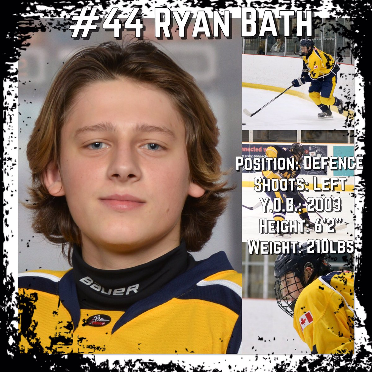 "North Central Predators #44 Ryan Bath is effective on the d-side of the puck. At 6'2"" Bath is a big rugged D with a massive reach and is not afraid to use his body to his advantage to wear down the opposition. He handles the stick well and is a team player with a good attitude.<br>http://pic.twitter.com/avFC1f3GKg"