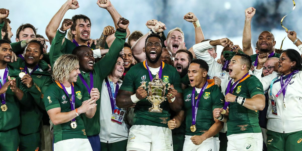 🏆 More silverware coming back to SA! 🇿🇦 Boks honoured in Berlin for brilliant 2019 season 🗣 They were true examples of excellent ambassadors 🔗 bit.ly/2PhyYov #Laureus20 #sportunitesus @LaureusSport #StrongerTogether