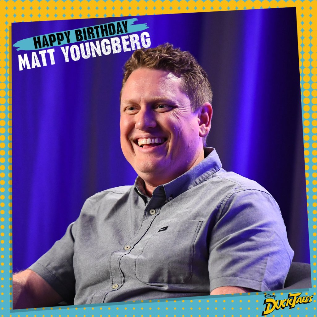 Wishing a quacky birthday to Matt Youngberg aka @theironwrist, Co-Executive Producer of #DuckTales! 🎂
