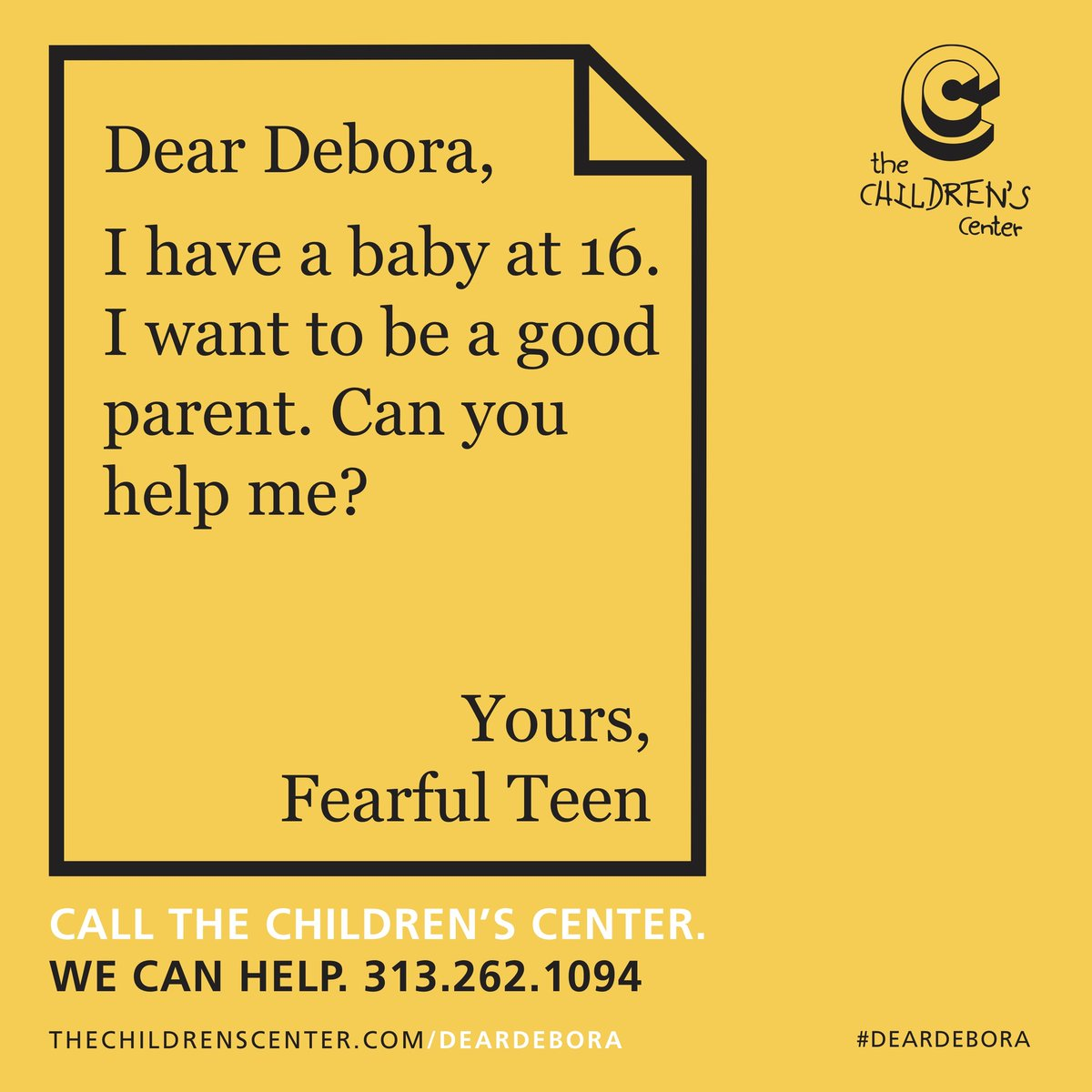 High school is challenging enough — and when you add parenting to that, it's understandably overwhelming. But we're here to help! Call us at (313) 262-1094. #DearDebora #wecanhelp http://bit.ly/2Mgu7j1pic.twitter.com/wLa8mZ6wRO