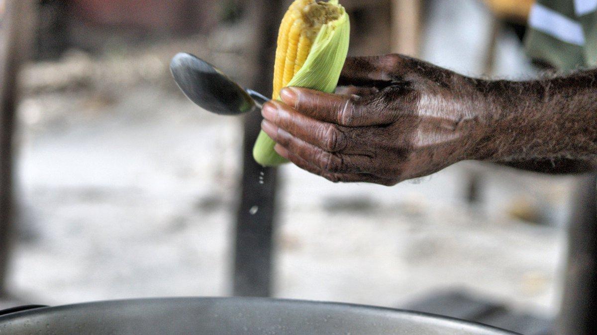 Roadside eats....fresh corn  #Jamaica #islandlife <br>http://pic.twitter.com/8imbyOE4Ja