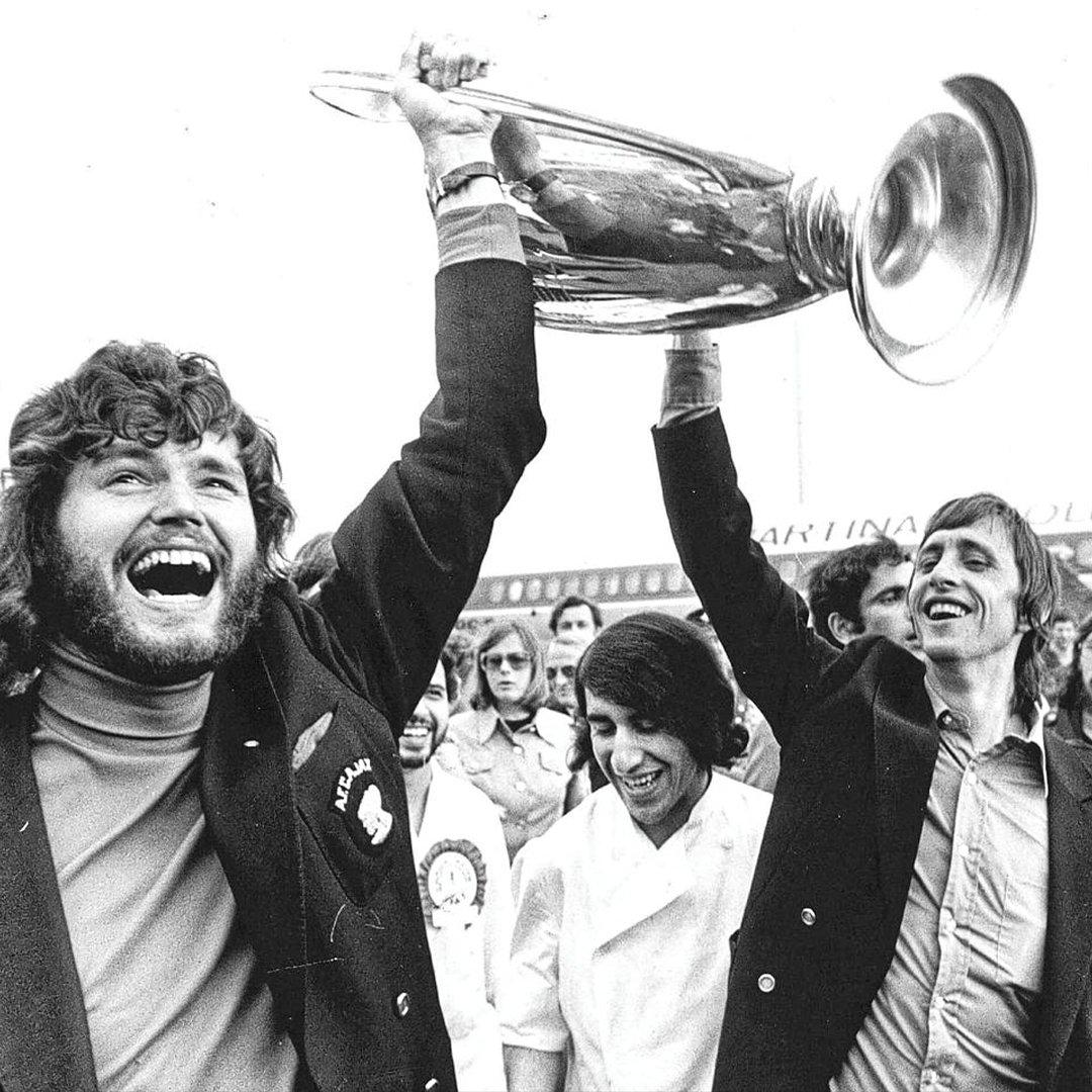 RIP, Barry Hulshoff, teammate and friend. #CruyffLegacy