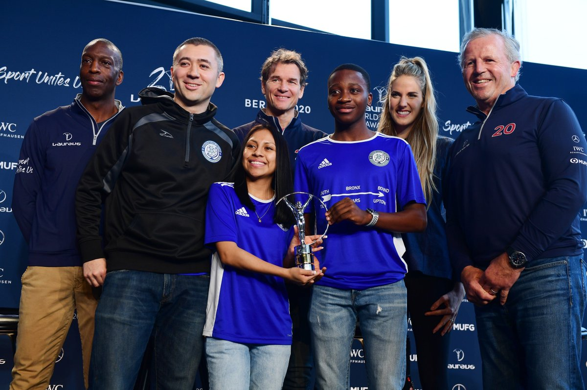 Congratulations to the South Bronx United Project. Winner of the #Laureus Sport for Good Award 2020. By supporting Laureus Sport for good, #MercedesBenz helps to remove barriers of discrimination of any kind. http://www.Laureus.com   #SportUnitesUs #SportForGood #Laureus20