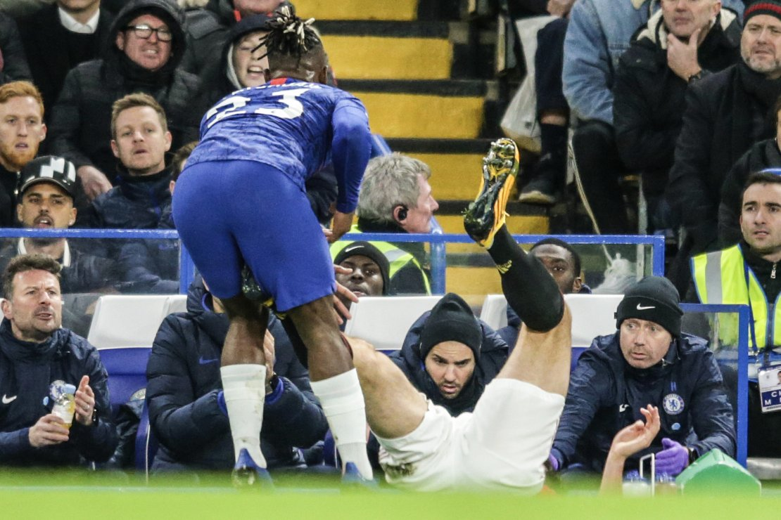 Image result for maguire batshuayi gif