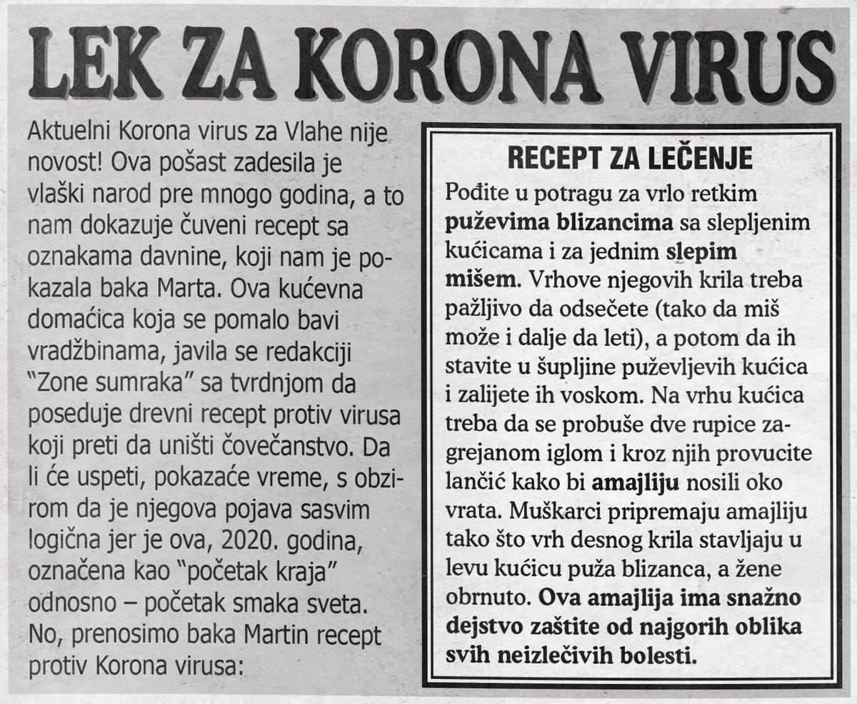 Lek za Korona virus!