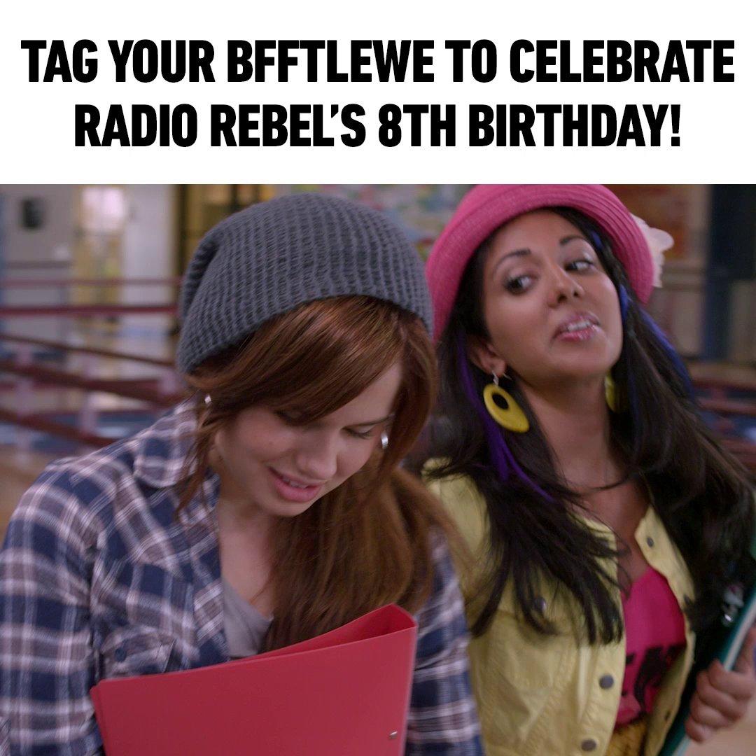 #RadioRebel premiered 8 years ago today on @DisneyChannel 🤯 We're still shook that BFFTLEWE didn't take off...