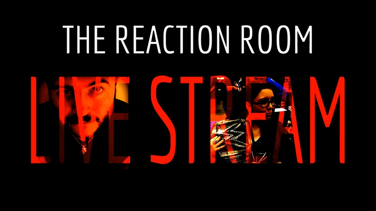 "We chat, we game, we watch, we ""sing"", we drink, we unbox...  WE LIVE STREAM!!!    Come say hello to the people that you hate.  🤘😘  Support the stream:   #WWE #RAW #AEW #Wrestling #ManicMonday  #TheReactionRoom #LiveStream"