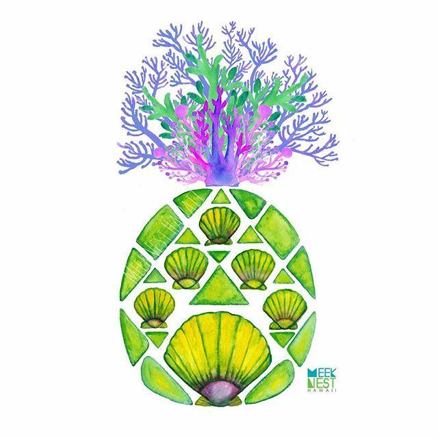 Geometric PineappShell . . . . . . . . #meeknesthawaii #hawaiiart #hawaiiartist #808 #madeinhawaii #creativehappylife #plantlover #succulove #bohohome #urbanjungle #urbanjunglebloggers #watercolorflowers #lovehawaii #tropicalvibes #tropicaldecor … https://ift.tt/2P1uxhipic.twitter.com/hyP09i6ZSD