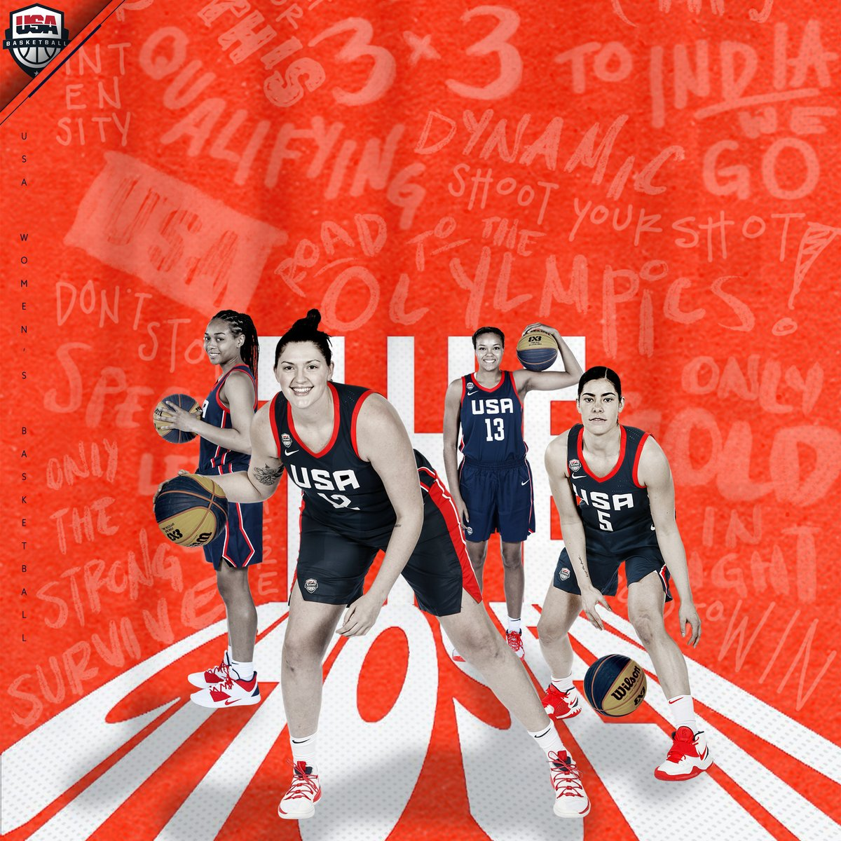 Star-Studded Squad 🇺🇸✨  We're taking an all-@WNBA roster of @PHEEsespieces, @bigmamastef, @Graytness_15 & @Kelseyplum10 to the 2020 @FIBA3x3 Olympic Qualifying Tournament!  »» http://bit.ly/2020USA3x3OQTTeams …