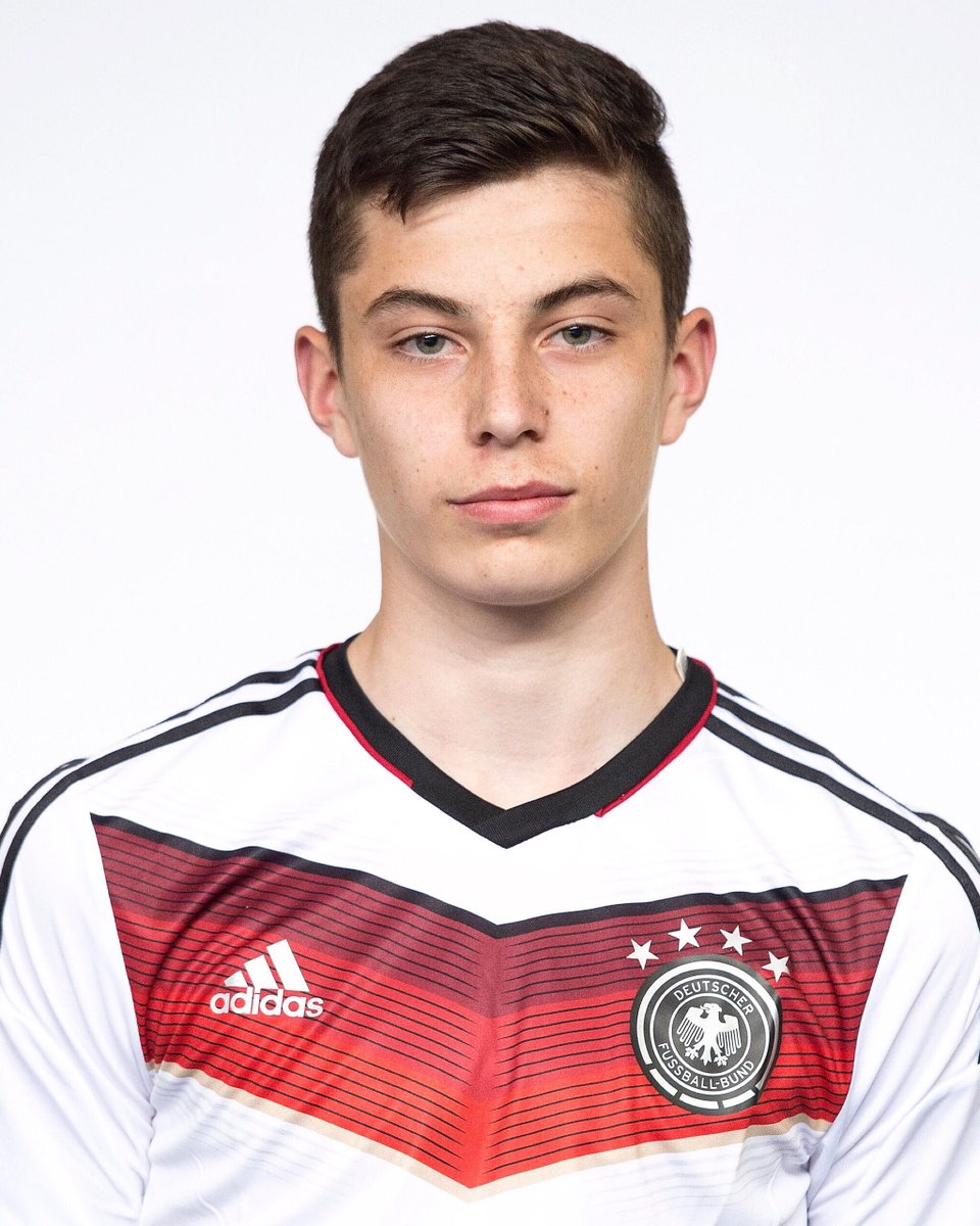 🇩🇪 Which current German player is this?  Under-16 in 2015 ➡️ now...  #EURO2020