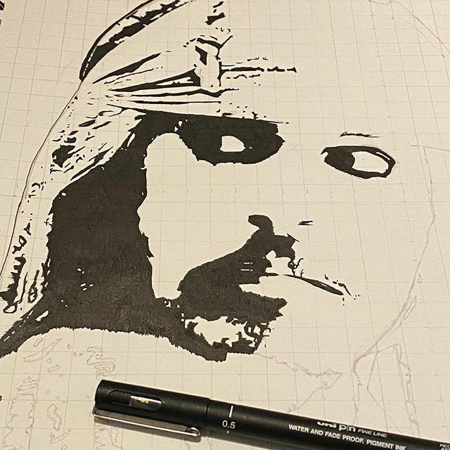 Spent a bit of time working on this today. #drawing #blackandwhitedrawing #piratesofthecaribbean #captainjacksparrow #disney #johnnydepp #pendrawing #art (credit to original photographer) https://ift.tt/2u2NUz8pic.twitter.com/ggUIaDAlvu