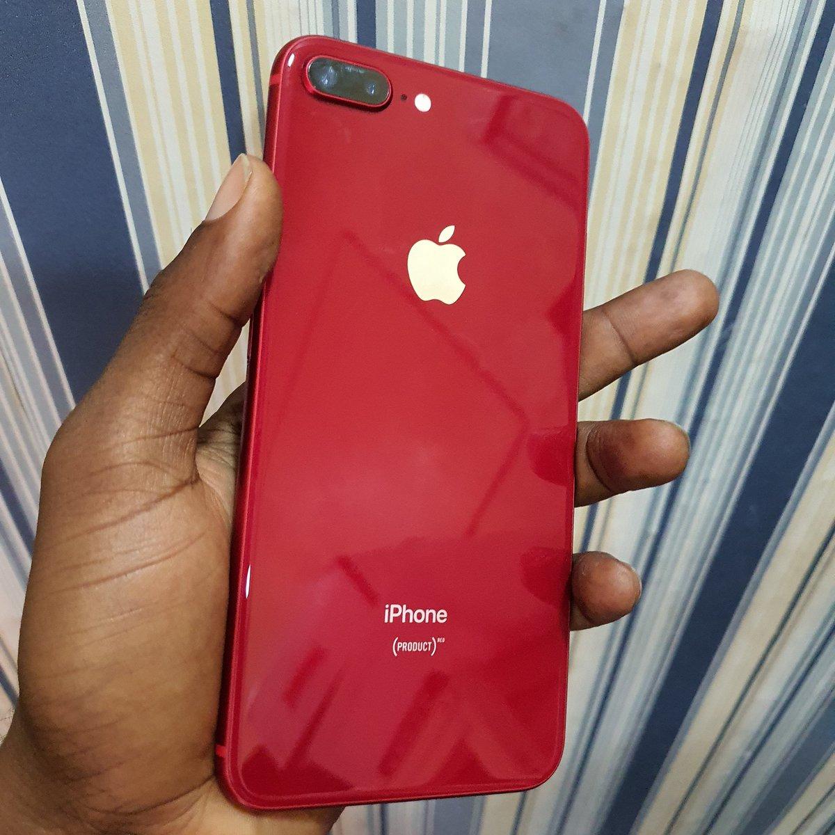 Uk used iPhone 8plus RED 256gb..PRICE:140,000..#hotdeals #apple #RED #gadgetshop #cruxconnect #sharpliknewpic.twitter.com/TKnBT6ZNOJ
