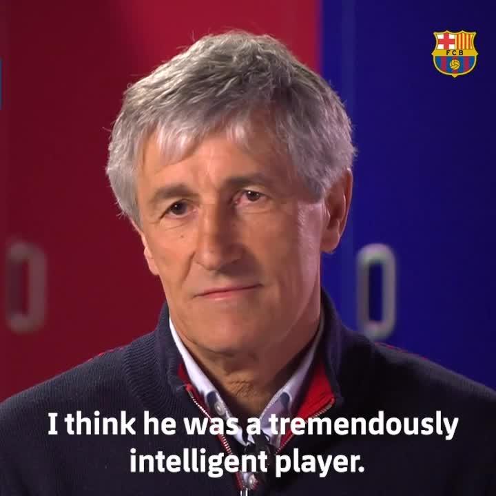 SIAPA SIH ? Pikir..ayo pikir... siapa yang sedang dibicarakan   @QSetien ?  Jawabannya dan juga  🔝4️⃣ pemain pilihanya   Legenda sepanjang masa: http://barca.link/c5uT50yogCz