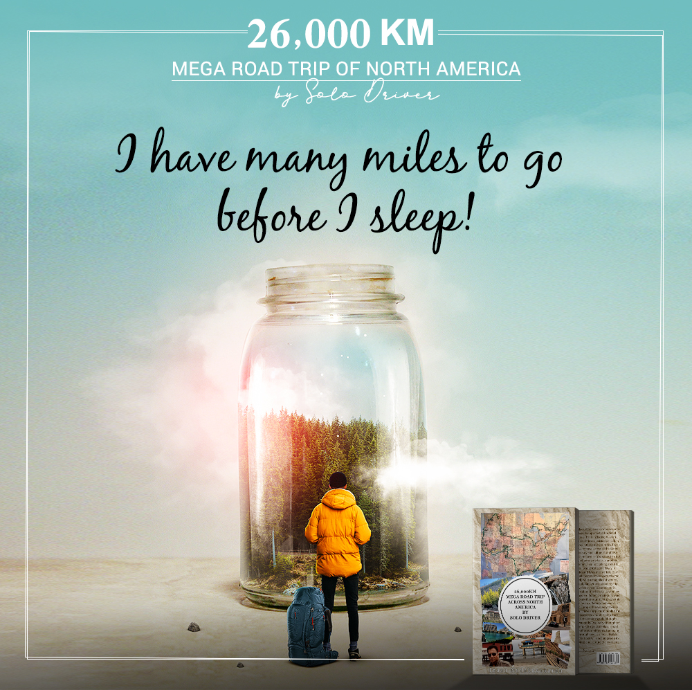 Oh, yes. But sleep is for the weak. When I decided to embark on a North American trip, sacrifices had to be made. Read more about my unbelievable journey! https://amzn.to/3bLkXZO #miles #amazing  #roadtrip #journey #amazingview #megaroadtripofnorthamerica #InasuGNadakavukaranpic.twitter.com/U8yArNClmI