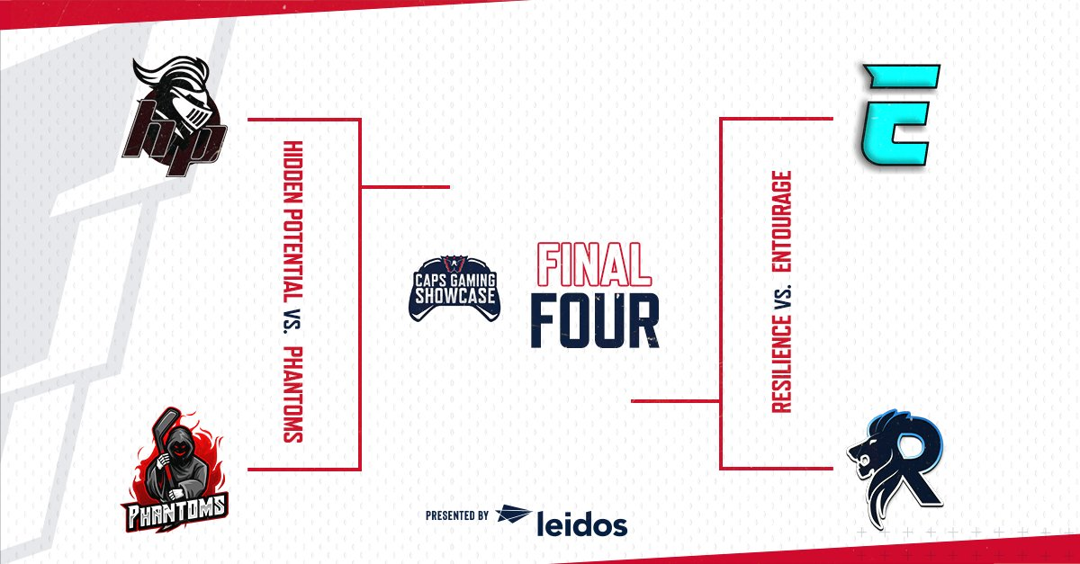 THE FINAL FOUR. 2/29. 11am. Twitch.tv/capitals #ALLCAPS