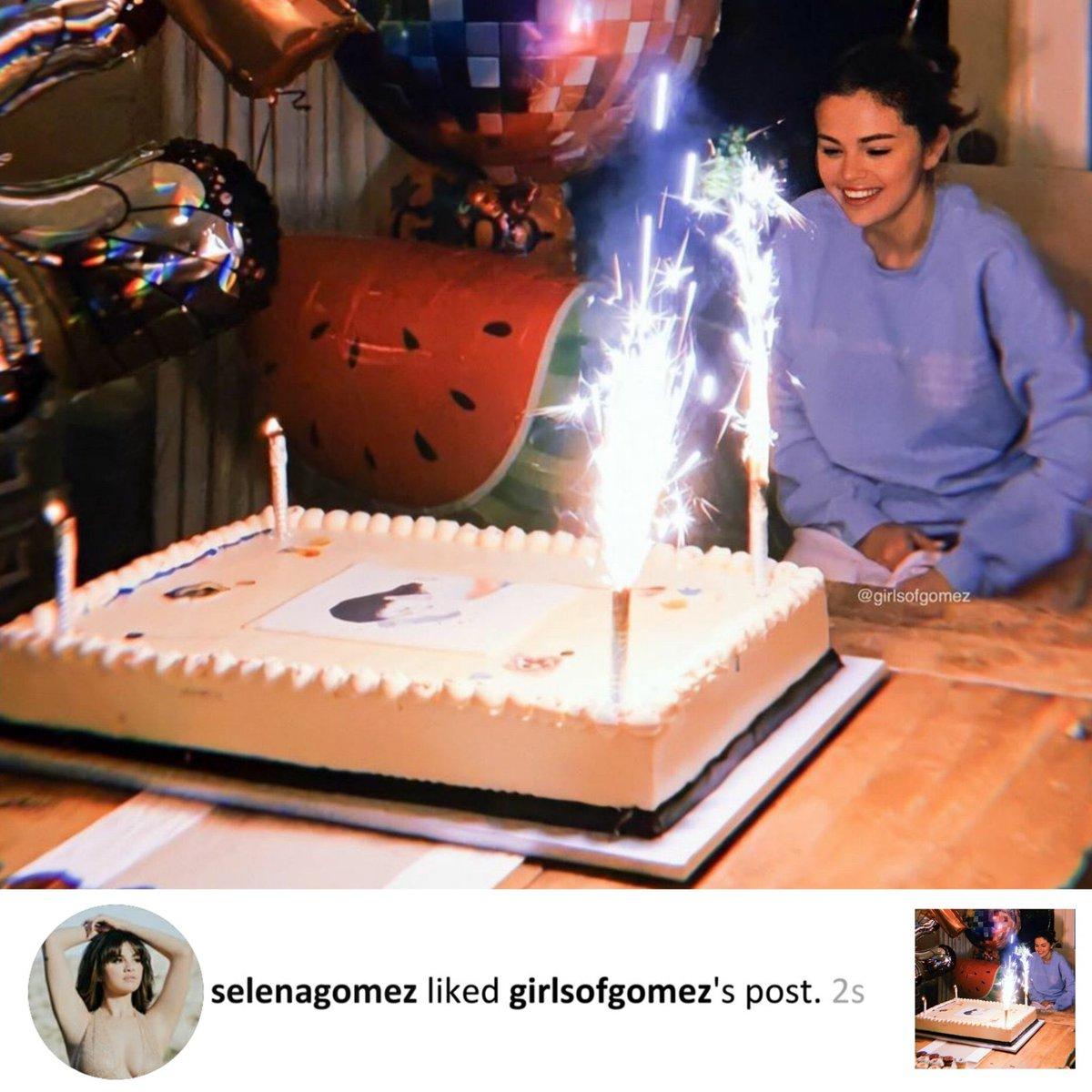 Outstanding Selena Gomez Worldwide On Twitter Selena Liked Funny Birthday Cards Online Drosicarndamsfinfo