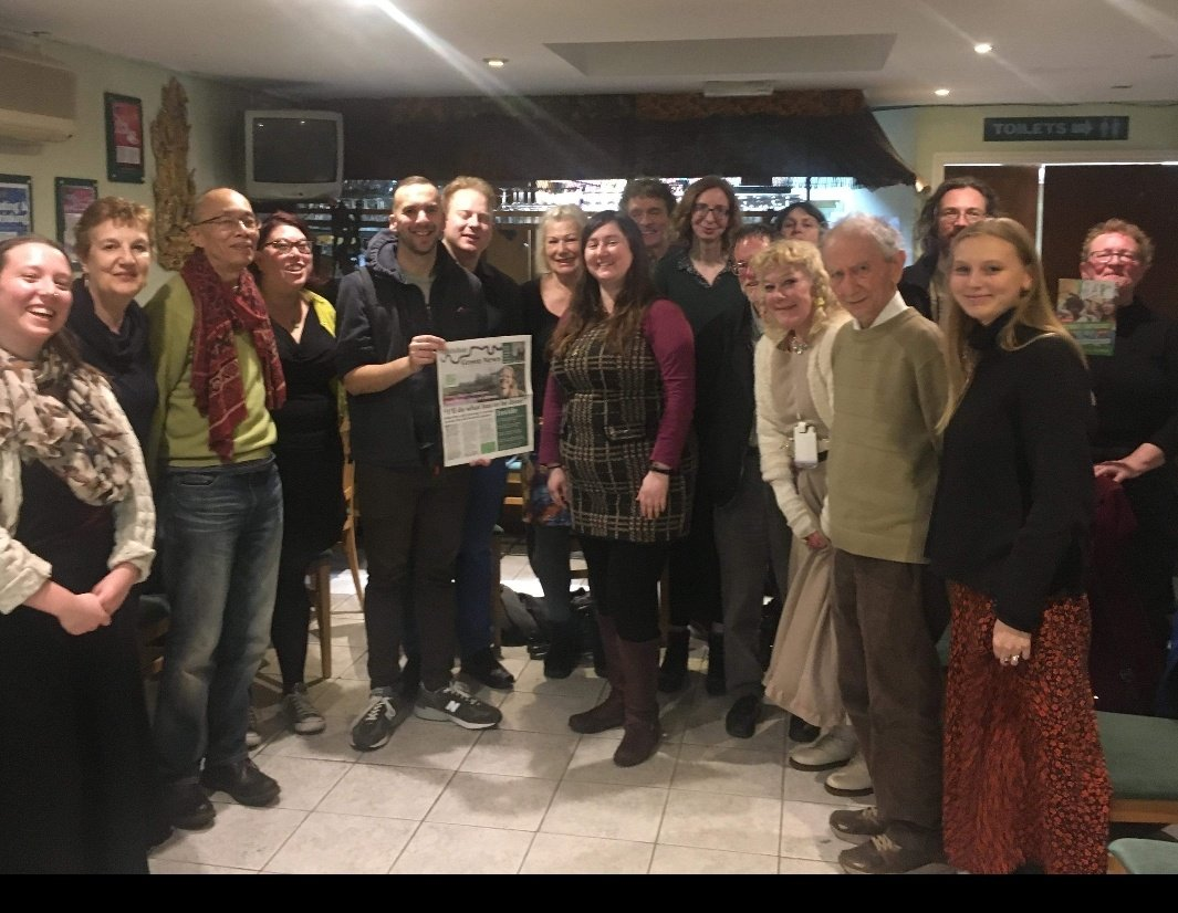 Really inspiring evening with @HaringeyGreens. Spoke to local @TheGreenParty members & answered questions about how we can get a Green Mayor for London with @sianberry. Green Assembly Members will bypass Boris & work to make London a Green city to be proud of. #SianBeforeKhan