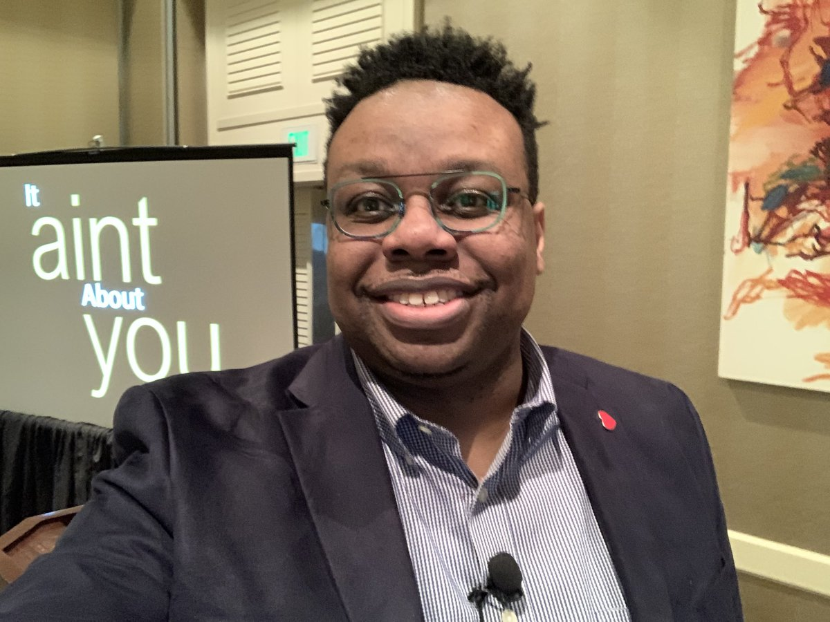"""Join me in Venetian I & VI at 5:10 for Big Ideas on Leadership """"It Ain't About You"""" #RTMk12 @RTM_BG"""