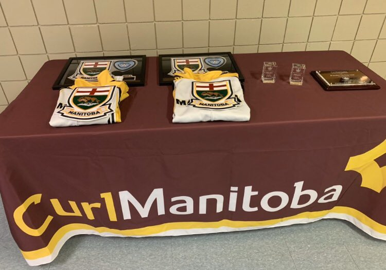 Manitoba jackets are on the line in Brandon later this afternoon for the provincial mixed doubles championship! Lots of local flavour as three of the four curlers call the #westman region home  @staceyfordyce/@steveirwin82  @DSamagalski/@KrystenKarwacki  #toba #curling #bdnmbpic.twitter.com/yuD42Clufs