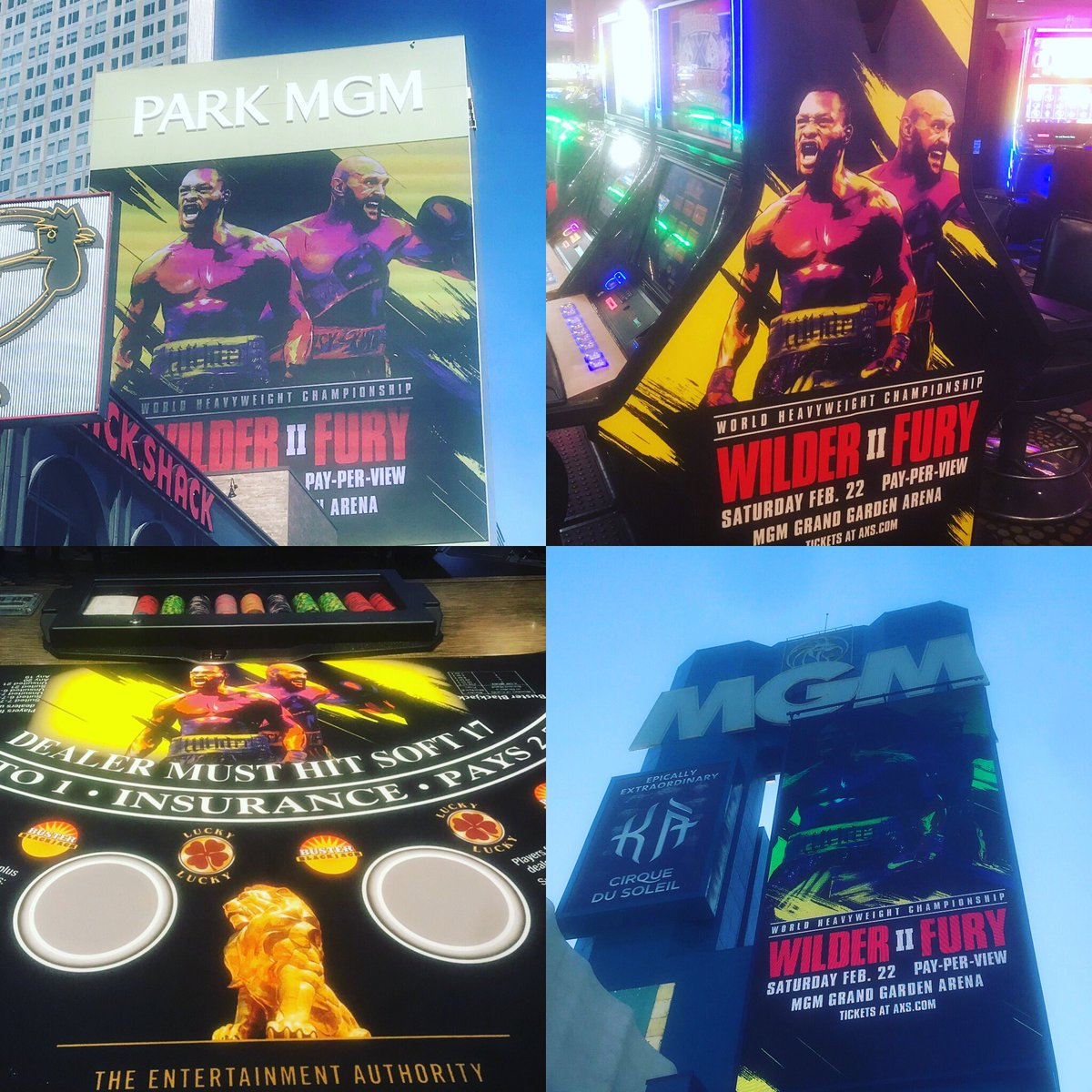 All in for #WilderFury on the Las Vegas strip and tables. Tonnes of content coming on BBC Sport including today's long read on the three minutes that got us here: http://www.bbc.co.uk/sport/boxing/51501533… #boxing
