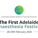 Image for the Tweet beginning: The First #Adelaide #Anaesthesia Festival: