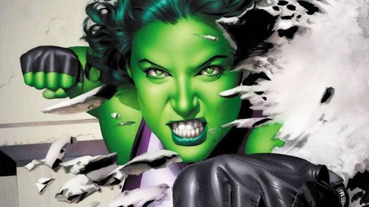 """De acordo com o @The_Illuminerdi Marvel estaria procurando uma atriz de 26 a 34 para viver a """"She Hulk"""" na série do Disney+. A chamada de elenco também detalha que a personagem é uma Advogada que obteve seus poderes após uma transfusão de sangue com seu primo Bruce Banner.pic.twitter.com/cegDCwjseg"""