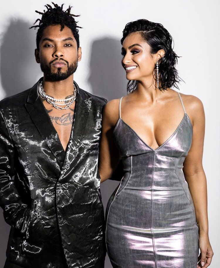 Miguel and Nazanin 🖤