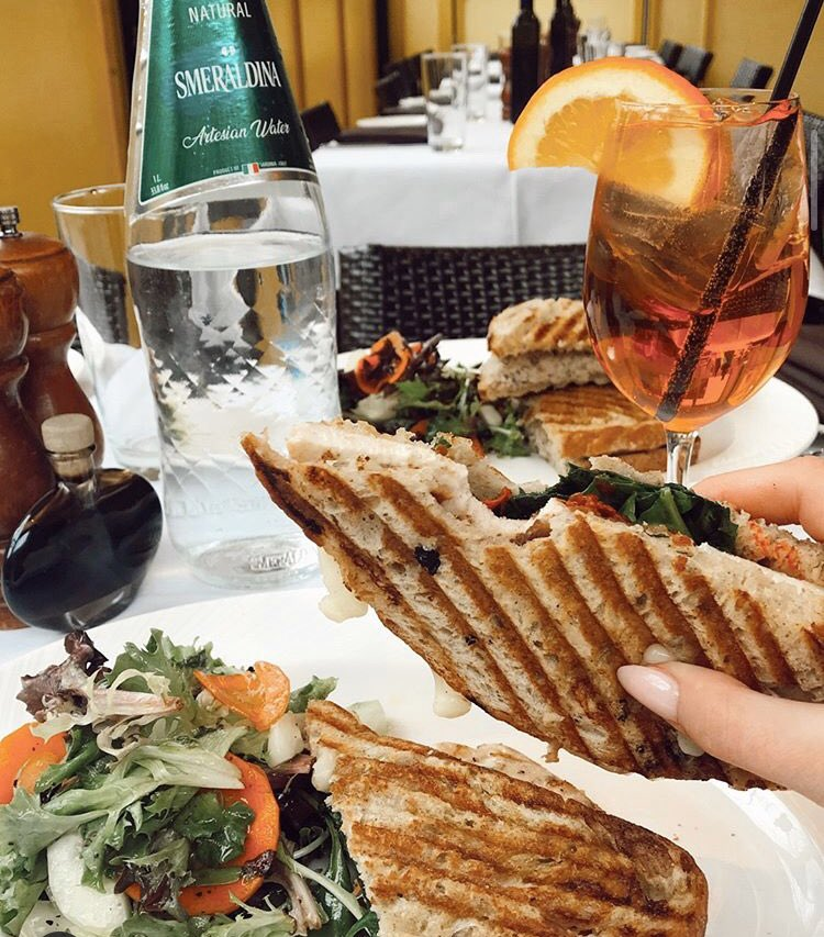 Lunch tomorrow?? Don't forget the spritz!!! Cheers 🤩