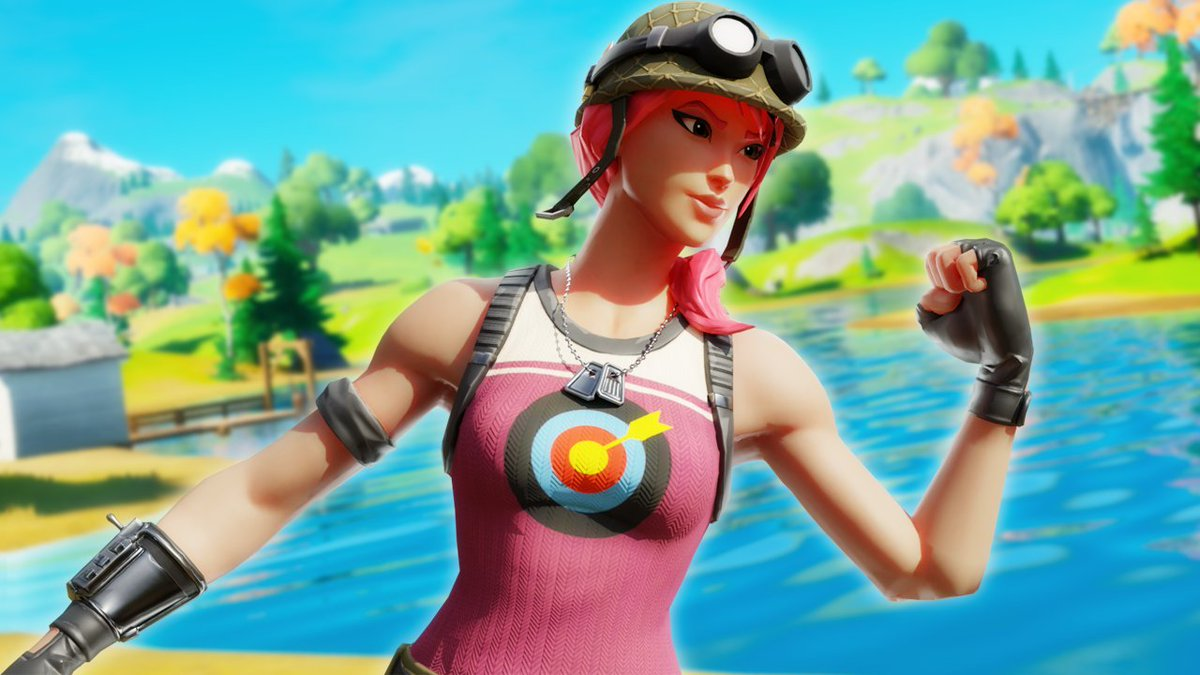 My first time that i tried to make a fortnite model in Blender instead of SFM, I think it turned out really good!  #Fortnite #FortniteSFM #Thumbnail #FortniteThumbnail #SFM #SFMFortnite #Blender https://t.co/spXIAzMK4Z