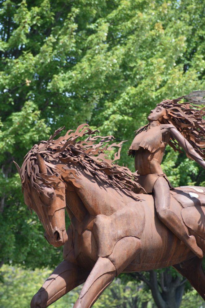 Unbridled -  via @virilycom #art #sculpture #PublicArt #Iowa #DesMoines #Travel #Traveling #Photography #Fotografia #写真撮影 #фотография #TravelPhotos