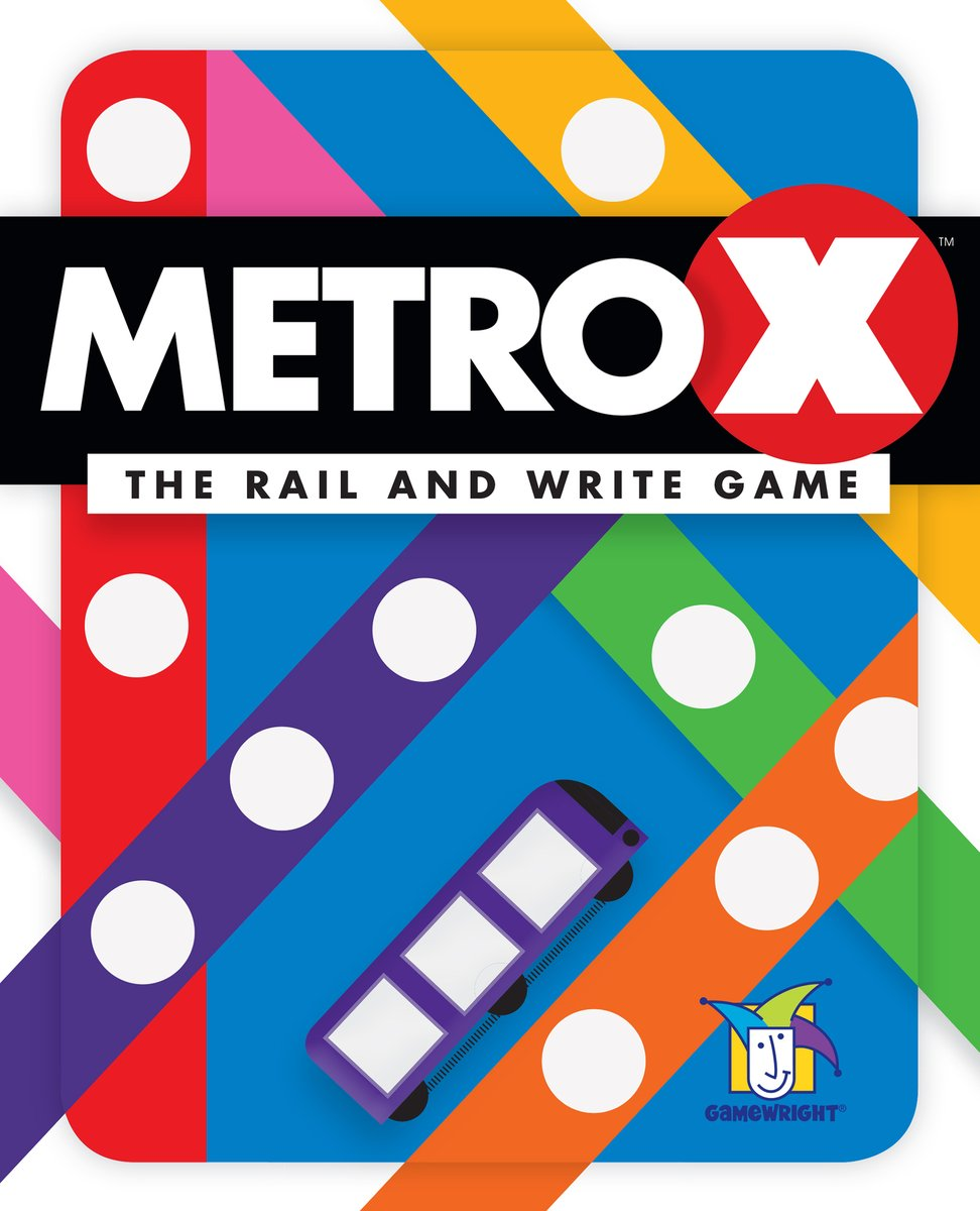 In Q1 2020, @Gamewright plans to introduce a new edition of the flip-and-write game MetroX from @okazu_900jaku on the North American market. Here's an overview of the game from the 2018 Tokyo Game Market: https://www.boardgamegeek.com/video/210475 . —WEMpic.twitter.com/K2IbzM1VtK