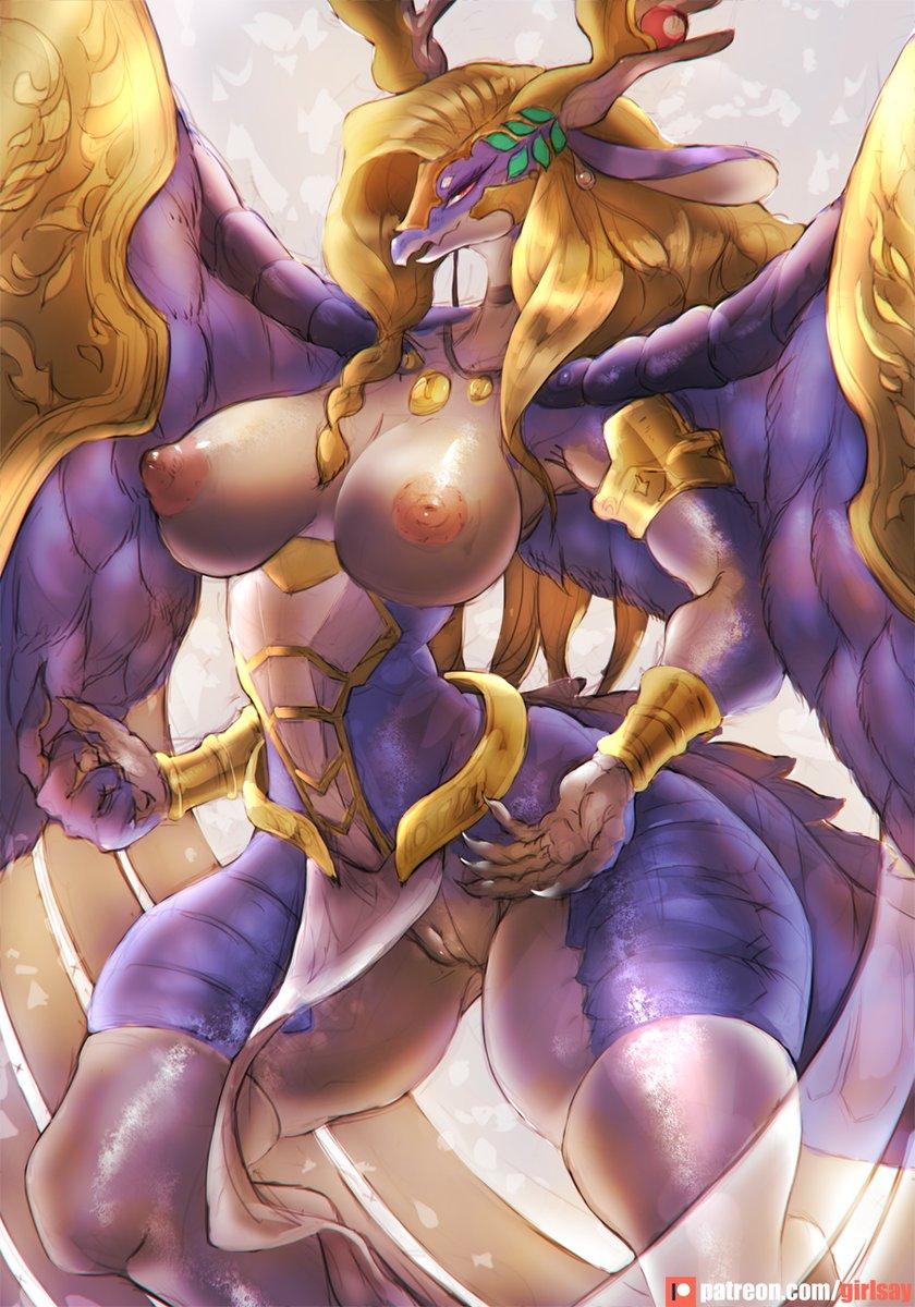 #遊戯王 #YuGiOh #竜姫神サフィラ #SaffiraQueenofDragons 0218[PA Reward Release]Saffira patreon.com/girlsay