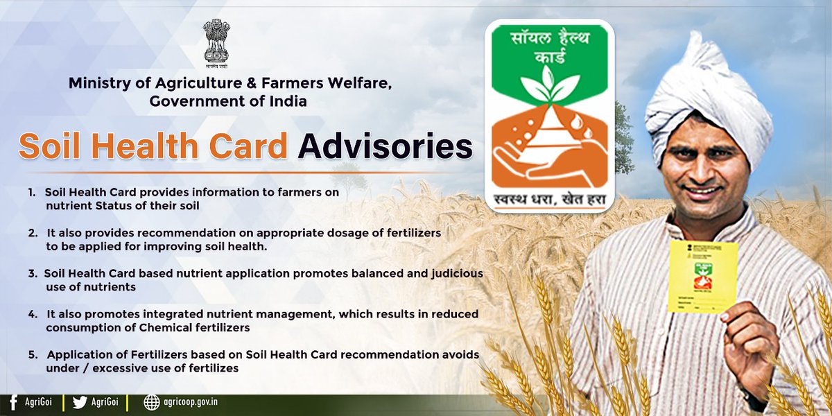 Soil Health Card Advisories#nutrientstatus#judicioususeofnutrients