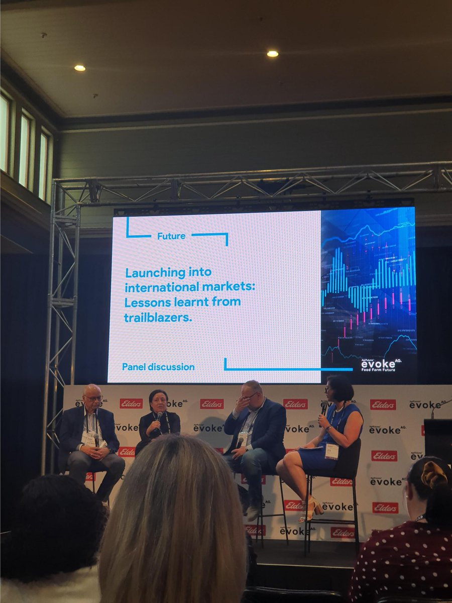 """Launching into international markets: Lessons learnt from trailblazers - """"Know your product, know your partner, know your market"""" #evokeAG #foodfarmfuture #agtech #innovation https://t.co/o7JdKC7aqF"""