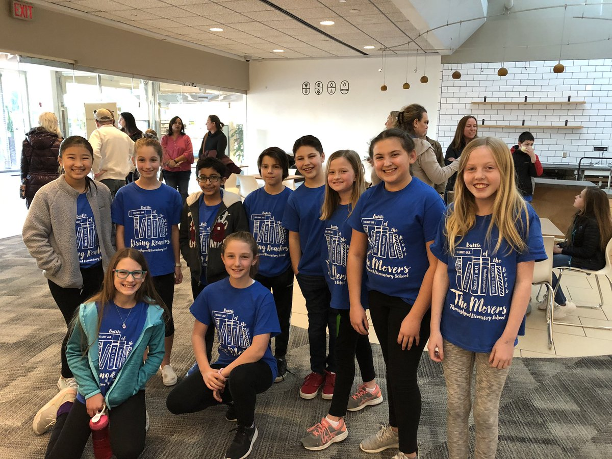 So proud of @TESSeagulls Battle of the Books teams. The Rising Readers and The Movers worked hard to read, practice and compete. #teamwork #readingisfun #proud @cziggy1 @JoshRingling @SarahPayneNBCT