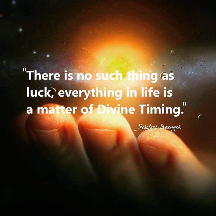 There is no such thing as luck, everything in life is a matter of #Divine Timing   #JesseLewisChooseLoveMovement #LightUpTheLove #Love  #TuesdayThoughts  #WednesdayWisdom #JoyTRAIN #GoldenHearts #ChooseLove #FamilyTrain #StarFishClub #IAMChoosingLovepic.twitter.com/bUGp6G56Bk