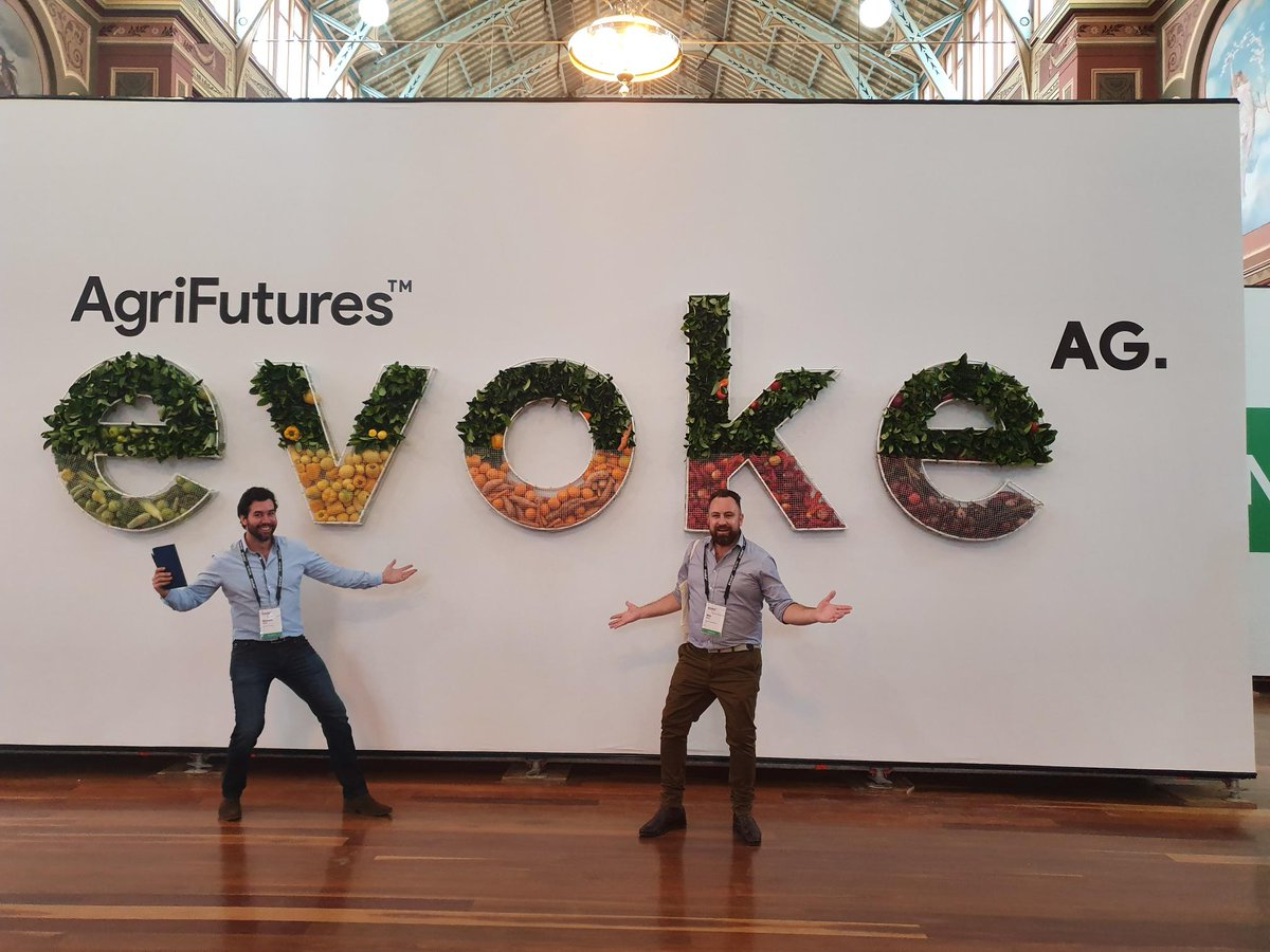 Our FX Specialists Will Kent & Richard Ennis are excited to be at #evokeAG, seeing first-hand the cutting edge #innovation in the agrifood tech space and meeting delegates. Come have chat with us about how we can enable you to better manage your FX requirements. #foodfarmfuture https://t.co/vFLkxgc4a0