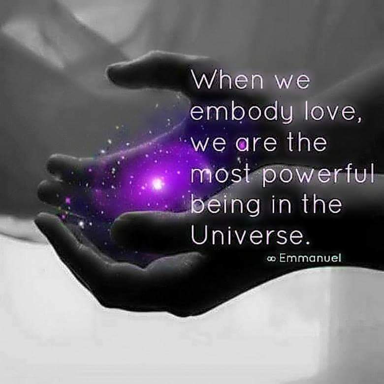 When we embody #love, we are the most powerful being in the #Universe   #JesseLewisChooseLoveMovement #LightUpTheLove #LUTL #TuesdayThoughts  #WednesdayWisdom #JoyTRAIN #GoldenHearts #ChooseLove #FamilyTrain #StarFishClub #IAMChoosingLovepic.twitter.com/BXTYQchv7i