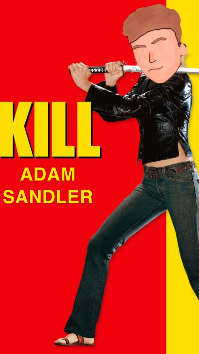 I'm coming for you, Kiddo. @AdamSandler pic.twitter.com/kQxvbIUmqE