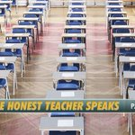 Image for the Tweet beginning: The Honest Teacher Speaks, Part