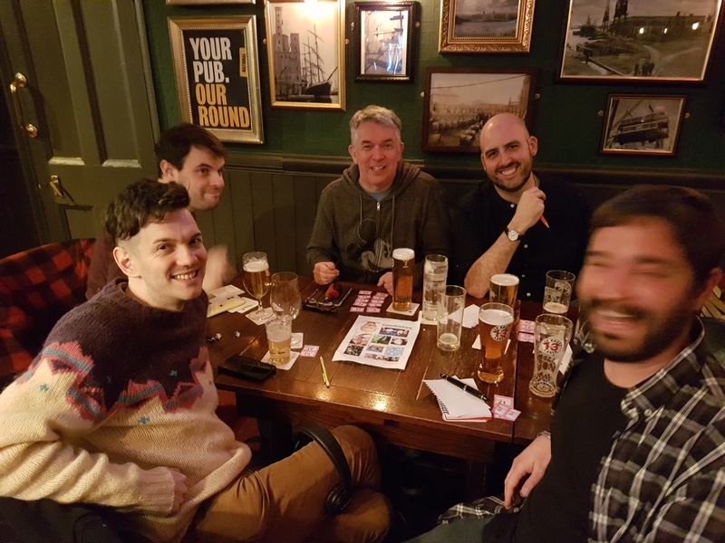 This week's winners were 'Stiff upper ship' at our weekly #PubQuiz @TheShipInnE14! #Canarywharf http://question.one/r298ywpic.twitter.com/qiJT45AlKR