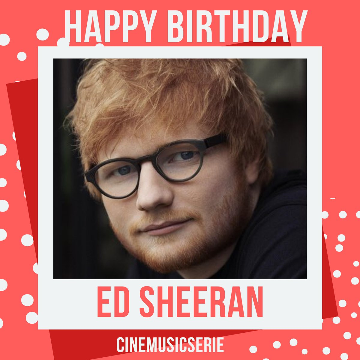 #HappyBirthdayEdSheeran  hoje o cantor e compositor @edsheeran Completa 29 anos .