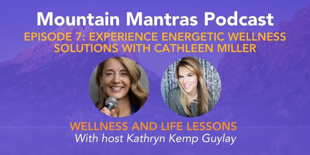 #Healthy lifestyle & law of attraction expert Cathleen Miller does a live #healing on this podcast interview.
