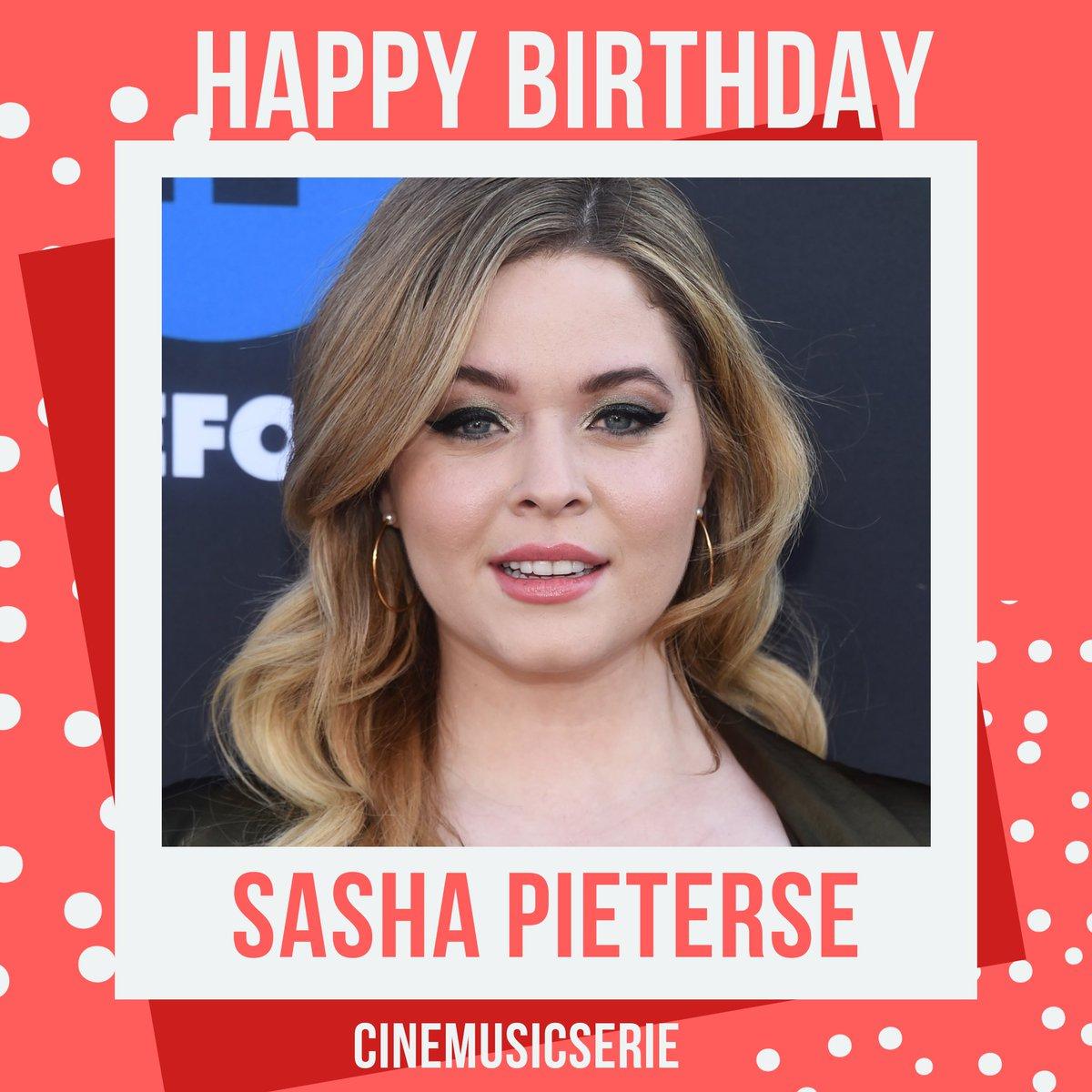 #HappyBirthday @SashaPieterse completa 24 anos hoje .