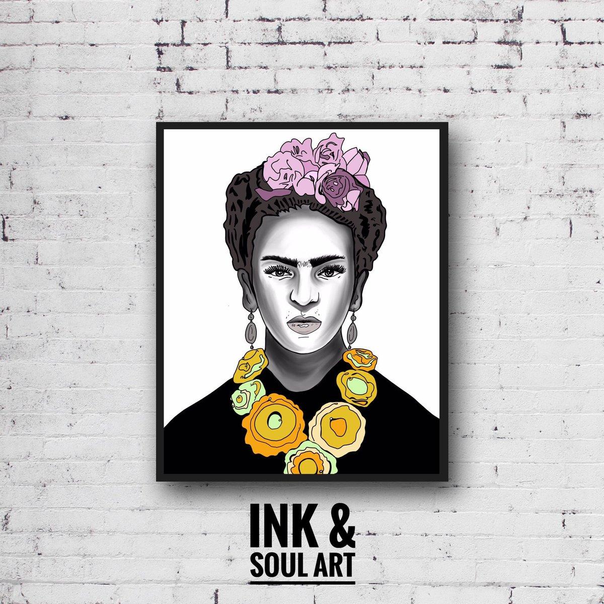 """Frida"" 🎨🌹 . . . #fridakahlo #frida #mexico #feminist #fridaart #portrait #digitalart #art #fridalove #handmade #famousartist #painter #etsyart #etsyartist #etsyshop #etsyfinds  #etsygifts #2020 #jpg #artist #art #inkandsoulart"