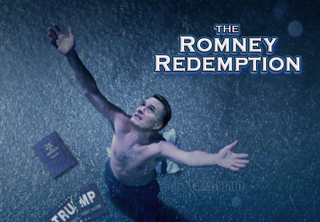 """""""Remember Mitt, no good thing ever dies.""""  #MittRomney #shawshankredemption pic.twitter.com/OIvJEtXASO"""