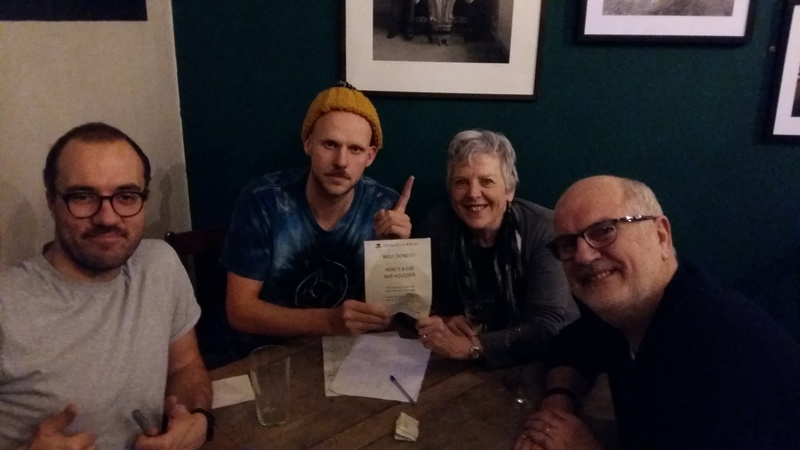 Thats my roast beef sandwich took home the gold last night @PrinceofWalesSW! Quizzing again next Sunday! #PubQuiz #Wandsworth http://question.one/250PZwpic.twitter.com/3RfJ8smmye